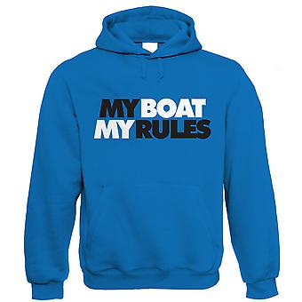 Vectorbomb, My Boat My Rules, Mens Sailing Hoodie