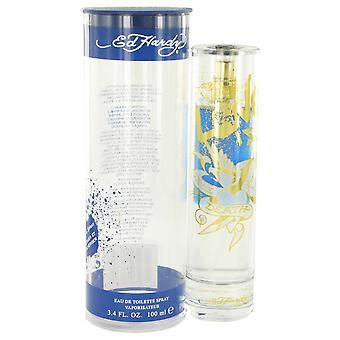 Christian Audigier Men Ed Hardy Love Is Eau De Toilette Spray  (Tester) By Christian Audigier