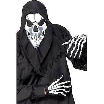 Le ossa dello scheletro costume scheletro costume di Halloween