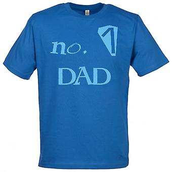 Spoilt Rotten No 1 DAD Men's T-Shirt