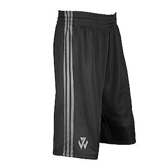 ADIDAS J Wall Check Basketball Shorts [black]