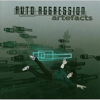 Auto Aggression - artefakter [CD] USA importerer