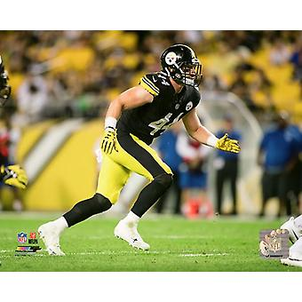 Tyler Matakevich 2017 Action Photo Print