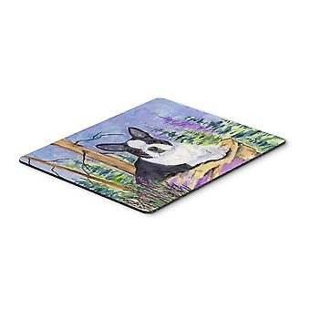 Carolines tesori SS8638MP Boston Terrier Mouse pad, pad caldo o sottopentola