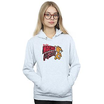Tom And Jerry Women's Macho Mouse Hoodie