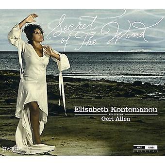 Elisabeth Kontomanou - hemmeligheden bag vind Feat.Geri Allen [CD] USA importen