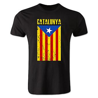 Catalonia Flag t-shirt (nero)
