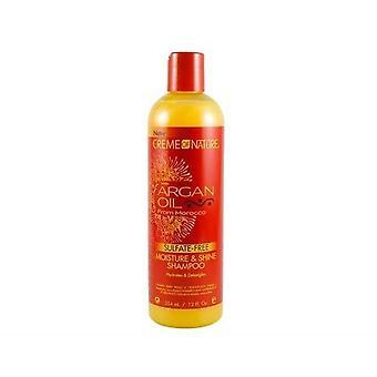 Creme af natur arganolie Sulfate-Free Shampoo 354ml