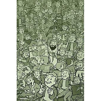 Fallout 4 - Compilation Poster Poster Print