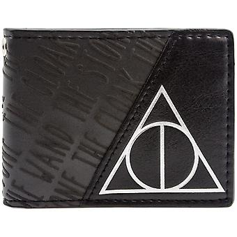 Warner Bros Harry Potter insygnia śmierci ID & karty Bi-Fold portfel