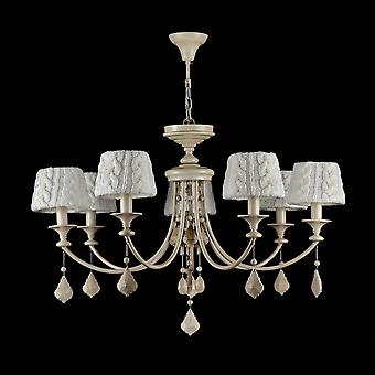 Maytoni Lighting Lana Elegant Collection Chandelier , Beige (wood)