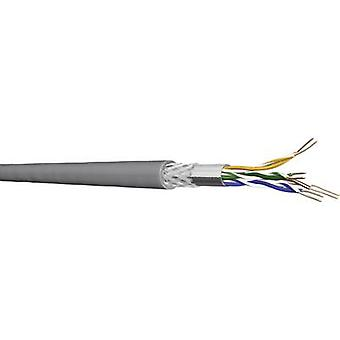 Red de cable CAT 5e SF/UTP 4 x 2 x 0,20 mm² gris