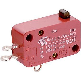 Microswitch 250 V AC 10 A 1 x On/(Off) Marquardt 1
