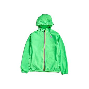 K-Way Le Vrai 3.0 Claude Jacket Green