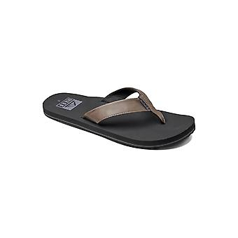 Reef Twinpin Leather Sandals