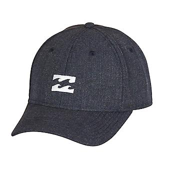 Billabong Stretch Curve Cap ~ All Day Heather navy