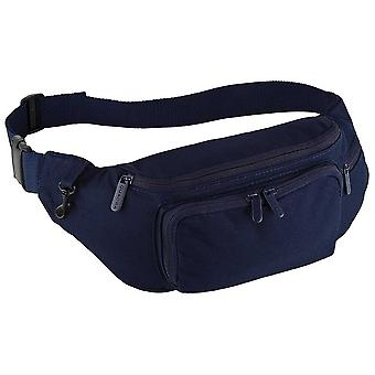 Quadra Unisex Running Cycling Belt bag One Size Black,Navy
