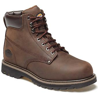 DICKIES Mens Workwear Welton Non sicurezza Boot marrone FN23600B