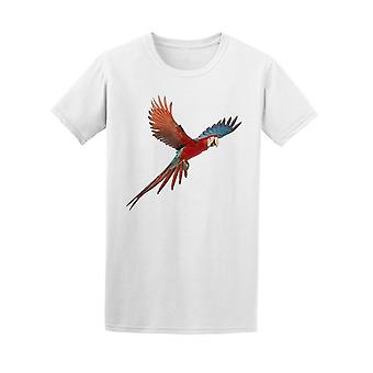 Green-winged Macaw  Tee Men's -Image by Shutterstock