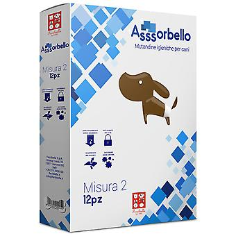 Ferribiella Disposable Pants S.3 Fuss Dog  (Hunde , Fell und Hygiene , Windeln)