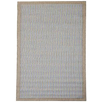 Outdoor carpet for Terrace / balcony blue Essentials chrome blue 135 / 190 cm carpet indoor / outdoor - for indoors and outdoors
