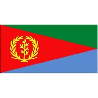 Eritreas flagg 5 ft x 3 ft med hull For hengende