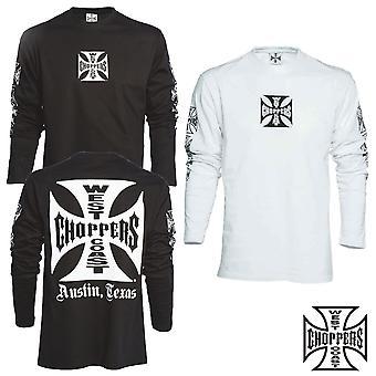 West Coast choppers T-Shirt Longsleeve OG cross