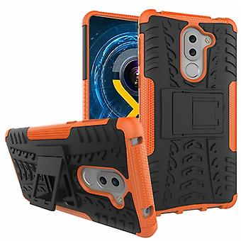 Hybrid case 2 piece SWL outdoor Orange for Huawei honor 6 X Pocket sleeve cover protection