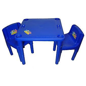 tavolo di attività kiddy e sedie
