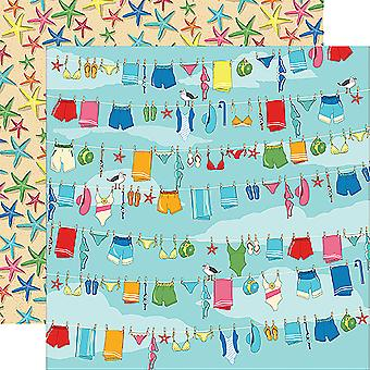 Zomer Splash ' Double-Sided Cardstock 12