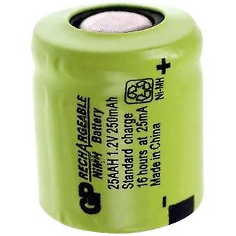 GP Batteries GP25AAH Non-standard battery (rechargeable) 1/3 AA Flat top NiMH 1.2 V 250 mAh