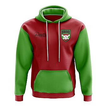 Burundi Concept Country Football Hoody (Red)