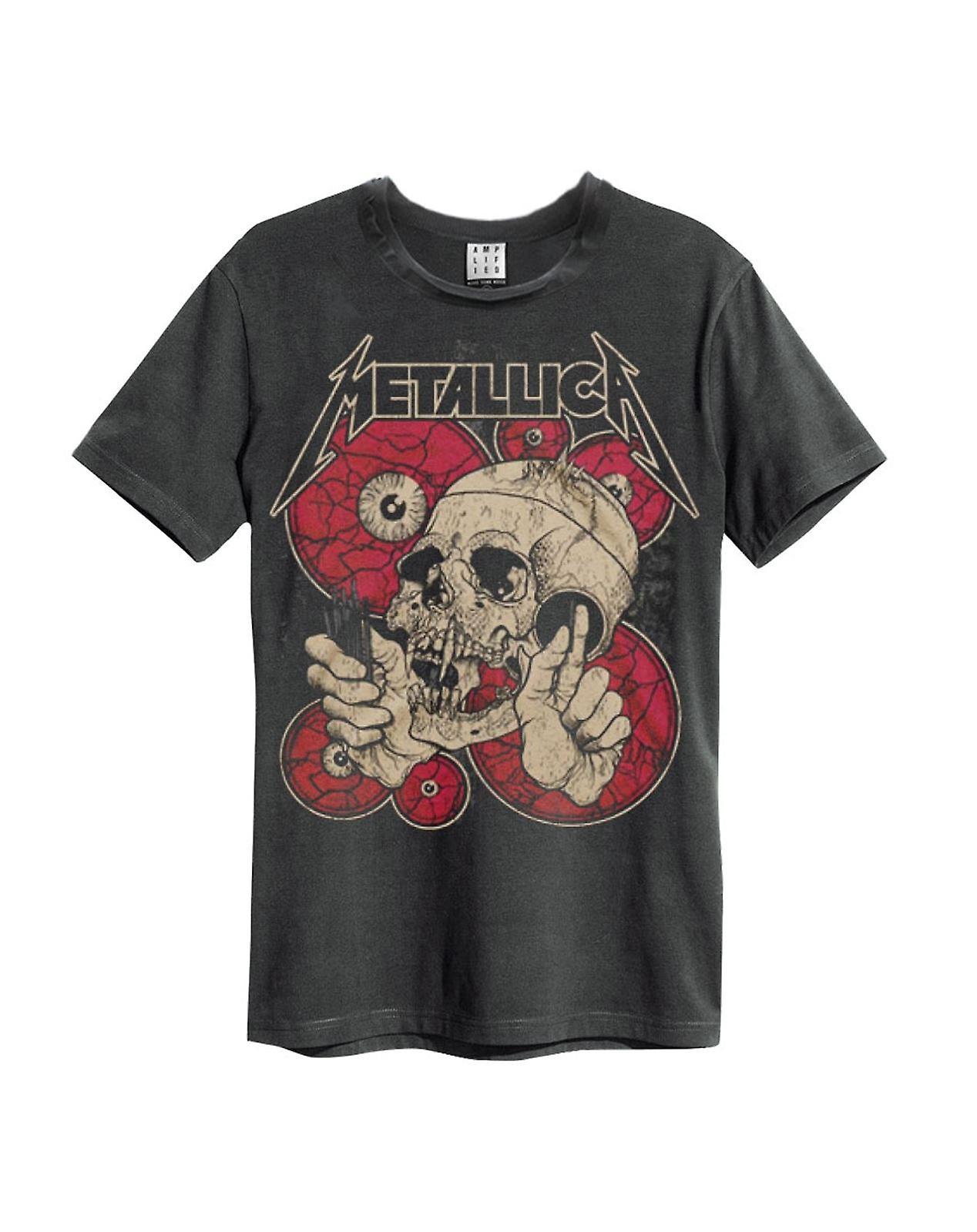 Amplified Metallica Watching You Mens T-Shirt