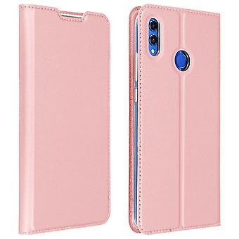 Slim flip wallet case, Dux Ducis series case for Honor 8X / View 10 Lite - Pink