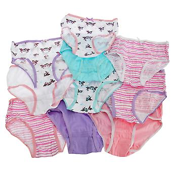 Kids By Tom Franks Girls Briefs (Pack Of 10)