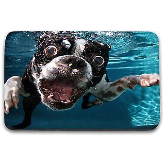 i-Tronixs - Underwater Dog Printed Design Non-Slip Rectangular Mouse Mat for Office / Home / Gaming - 2
