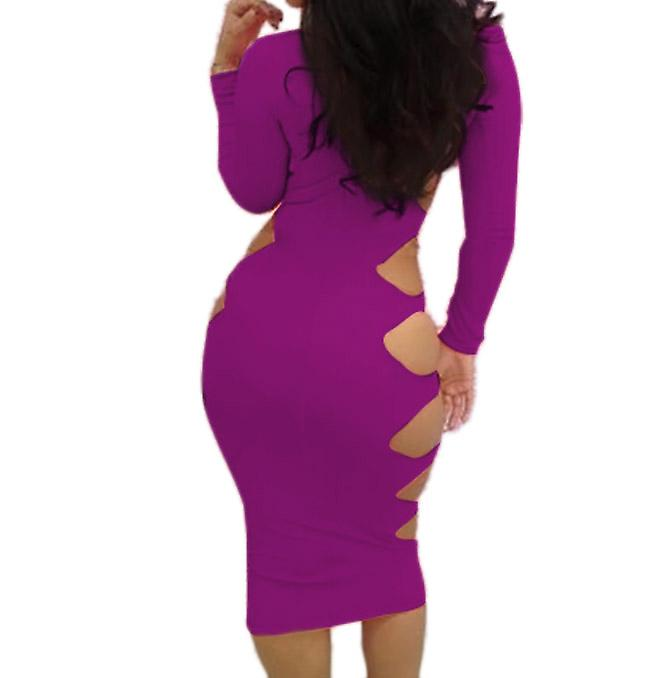 Waooh 69 - Fitted Dress pierced the side Christie