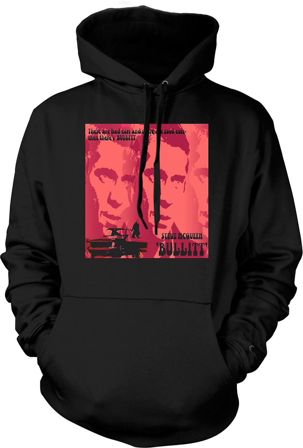 Enfant Sweat Capuche - Steve McQueen Bullit Good Cop