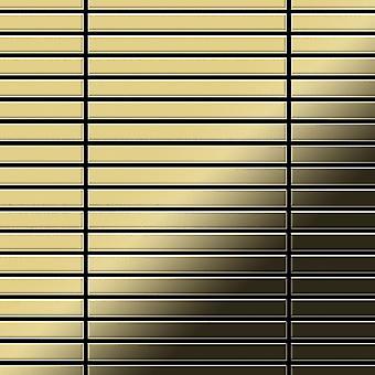 Metal mosaic Brass ALLOY Linear-BM