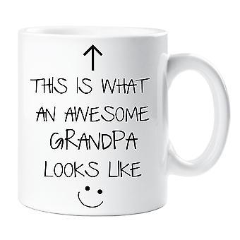 This Is What An Awesome Grandpa Looks Like V2 Mug