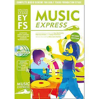 Music Express początku lat Foundation Stage - schemat pełne muzyki