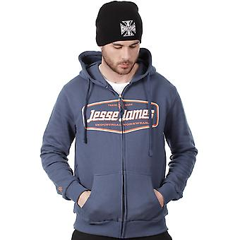Jesse James Marine industrie Logo Zip Hoody