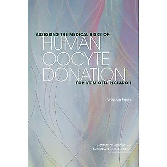 Vurdere medisinsk risikoen for menneskelig Oocyte donasjon for Stem Cell Research: Workshop rapport