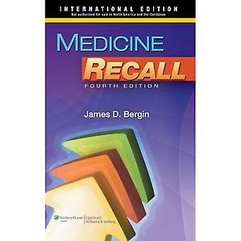 Medicine Recall International Editio 4th (Recall Series)