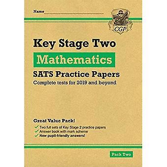 Nouveaux KS2 Maths SATS pratique papiers: Pack 2 (pour les essais en 2019)