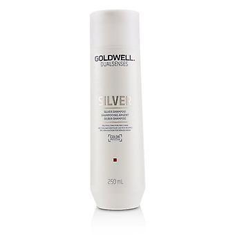 Goldwell duplo sentidos Shampoo prata (neutralizante para cabelos grisalhos) - 250ml/8,4 oz