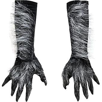 Werewolf Hands Gray For Adults
