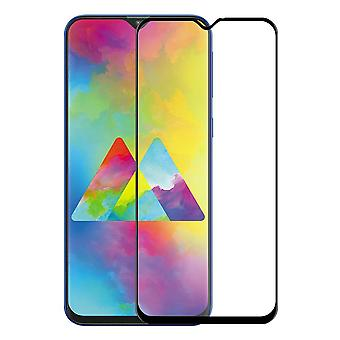 For Samsung Galaxy M20 2 x 9 premium 0.3 mm H9 hard glass black slide protection cover new