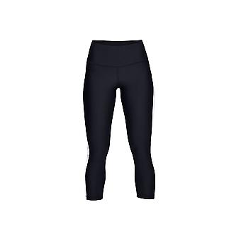 Under Armour HG Armour Ankle Crop Branded 1329151-002 Womens leggings