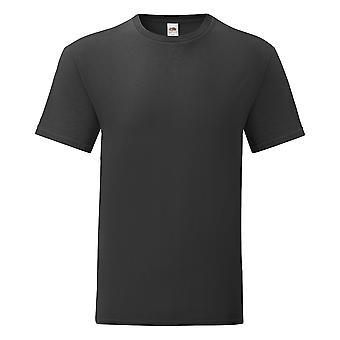 Fruit Of The Loom Mens Iconic 100% Combed Cotton T Shirt